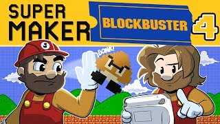 New Super Mario Maker | Let's Play Blockbuster #4 | Super Beard Bros.