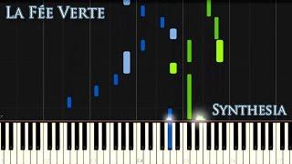 Synthesia Tutorial Vladimir Sterzer - La Fée Verte (Gothic Piano)