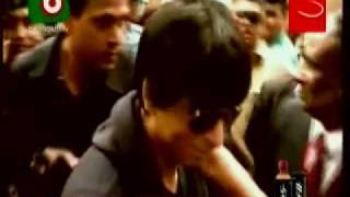 Shahrukh Khan arrives in Bangladesh & reherses dance with Rani Mukherjee