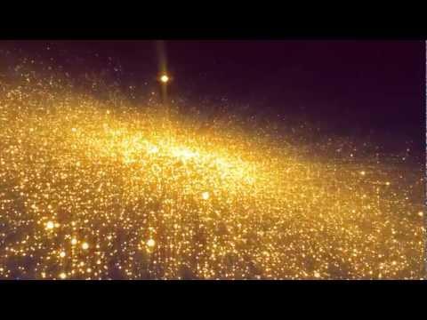 キラキラ映像素材ゴールデンgolden_particle