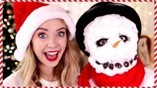 My Brothers Snowman Makeover | Zoella