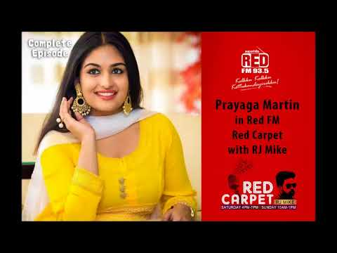 Xxx Mp4 Prayaga Martin In Red FM Red Carpet With RJ Mike Christmas Special Red FM Kerala 3gp Sex