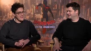 Spider-Man Into The Spider-Verse Interviews - Shameik Moore, Jake Johnson, Lord And Miller