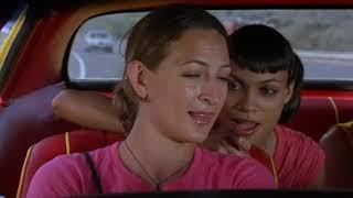 Диалог Абернейти, Ким, Зои и Ли в машине о сексе.
