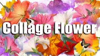How To Make Collage Flower | Creative Collage Art Work | Easy Steps