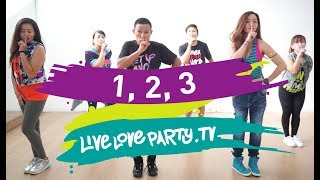1 2 3 by Sofia Reyes | Live Love Party | Zumba | Dance Fitness