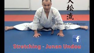 Basic Stretching exercises for Karate to improve flexibility / Dehnübungen / Junan Undou