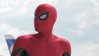 Captain America: Civil War - ALL SPIDER-MAN SCENES [HD 1080p] Queens,Airport Fight