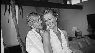 Revisit Ellen & Portia's Wedding Day on Their 10th Anniversary