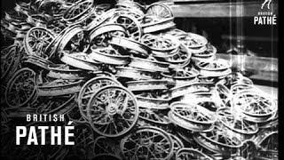 Factory Making Bikes And Mini Bikes (1943)