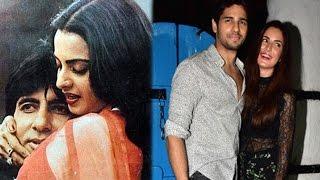 Rekha & Amitabh Bachchan's Affair Revealed In Her Biography | Sidharth Has A Crush On Katrina