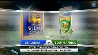Sri Lanka v South Africa - 2nd ODI: Highlights