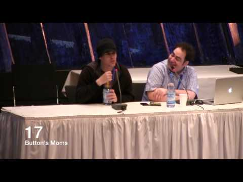 BUTTON'S MOMS - Jan, Shady & Eile's Funniest Moments at GalaCon 2014 1/2