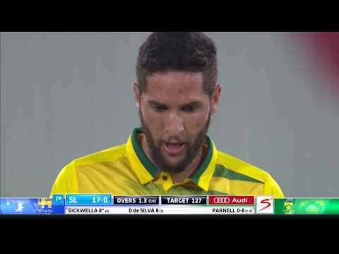 South Africa vs Sri Lanka - 1st T20 - Match Highlights