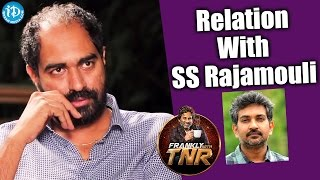 Krish About Relationship With Rajamouli || Frankly With TNR || Talking Movies With iDream