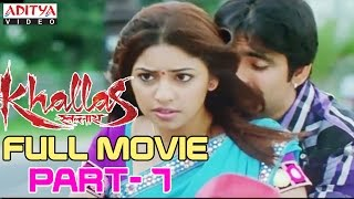 Khallas Hindi Movie Part 7/12 Raviteja, Richa Gangopadhay, Deeksha Seth