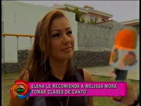 Comentarios sobre show de Melisa Mora