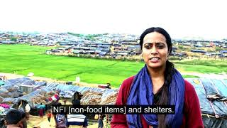 Christian Aid helps Rohingya refugees in Bangladesh camps.