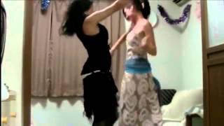 رقص بنات حلوين وتقسيم  دلع  رقص هيجان من بنات الكيك رقص معلايه
