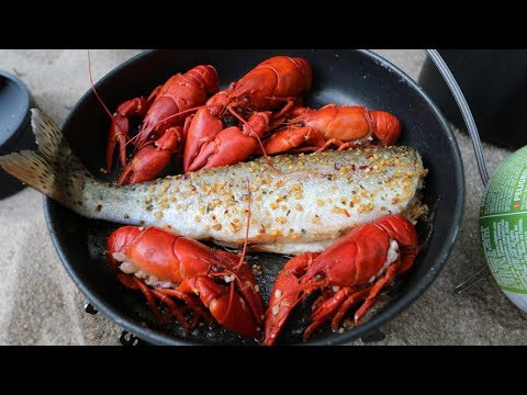 Catch n Cook SPICY Crawfish and WILD Trout