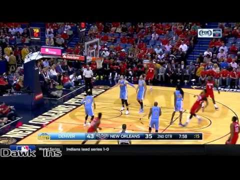 Anthony Davis Full Highlights 2016 10 26 vs Nuggets   50 Pts, 16 Rebs, 7 Stls, 5 Ast, 4 Blks!