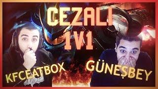 KFCEatbox vs Güneş Bey | CEZALI CHALLENGE