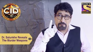 Your Favorite Character   Dr Salunkhe Reveals The Murder Weapons   CID