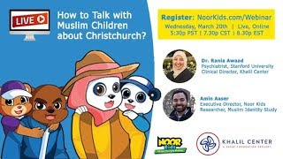 Webinar: How to talk with Muslim kids about Christchurch