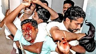 CPM   Congress Fight in Adimali 28/11/2014