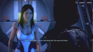 Mass Effect 3 - Female Shepard Romance Diana Allers