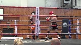 František Petřík VS Ondřej Macek -76,2kg MČR v Muay Thai 2015 Třebíč 5. kolo Full Fight