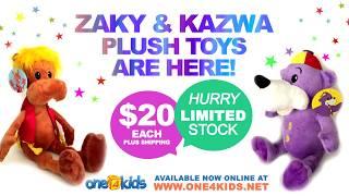 Zaky & Kazwa soft  plush toys are finally here!