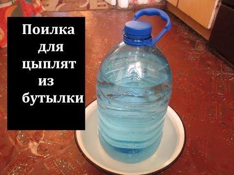 Кормушка для кур из пластиковых бутылок своими руками