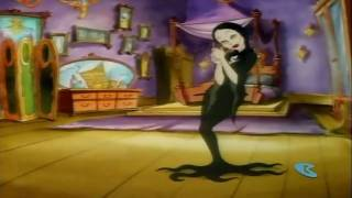 The Addams Family  intro cartoon theme song  HD 720p