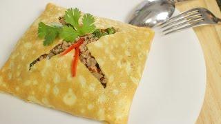 Thai Stuffed Omelette Recipe ไข่ยัดไส่ - Hot Thai Kitchen!