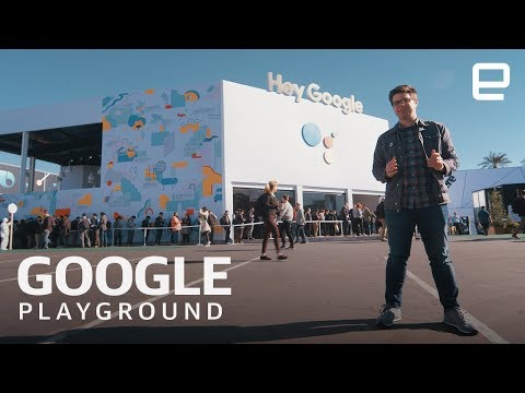 Xxx Mp4 Inside Google S Insane Playground Installation At CES 2019 3gp Sex