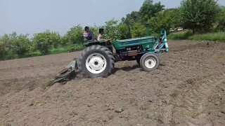 Talha Dhillon Drive FIAT 640 Tractor Must Watch 2017.