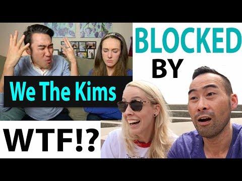 We The Kims blocked us!!!! AMWF WARS!!!! Mukbang big bites (for you Kerman)