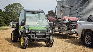 Goodbye Mule! - New John Deere Gator 825i