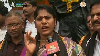 Visakhapatnam : YSRCP Leader fire on Chandrababu over Using Police force on Mudragada Padmanabham