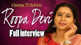 Film, TV Actress Roopa Devi Full Interview || Telugu Popular TV