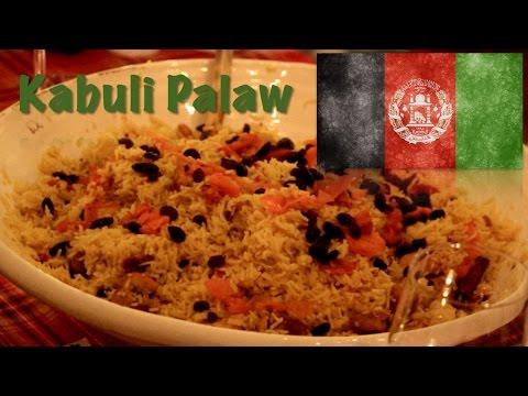 How to cook Kabuli pulao (The Afghan dish)