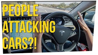 WS - People Are Attacking Self Driving Cars!? ft. Steve Greene & DavidSoComedy