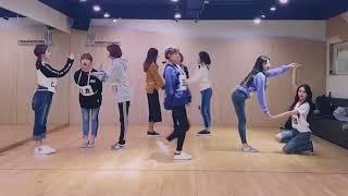 TWICE - Likey (dance practice) 50%slow