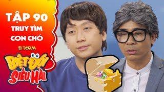 """Biệt đội siêu hài tập 90 - Tiểu phẩm: Nhật Trung bị Phát La """"chơi chiêu"""" khi đưa tin đi tìm """"kỷ vật"""""""