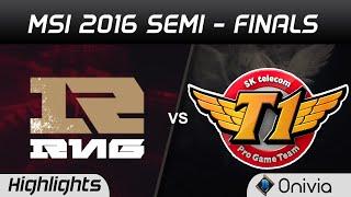 RNG vs SKT Highlights Game 2 MSI 2016 Semi Finals Royal Never Give Up vs SK Telecom T1