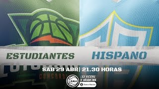 Liga Nacional: Estudiantes vs. Hispano | #LaLigaEnTyC