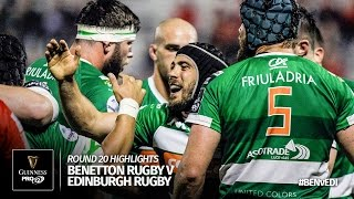 Round 20 Highlights: Benetton Treviso v Edinburgh Rugby | 2016/17 season