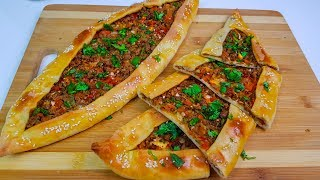 Turkish Pide Easy | پیده  ترکی
