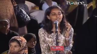 Dr  Zakir Naik hindu brahmin girl asking about Islam   Dr  Zakir Naik